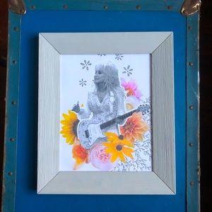 Dolly Wildflower Framed Photo